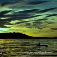 Sunset di tanah Papua