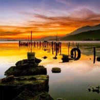 """Sunset from """"Makhale"""" (Danau Sentani)"""