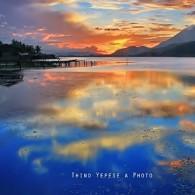Reflecton in Sentani Lake