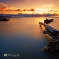 """ Sunset at tanjung sarmi """