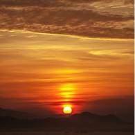 Sunrise From East Indonesia
