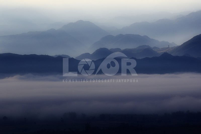 Kabut Lembah Baliem